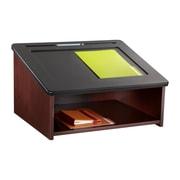 Safco Products Tabletop Lectern; Mahogany
