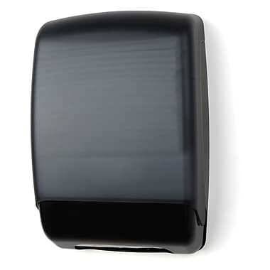 Palmer Fixture Multifold Towel Dispenser; Black Translucent