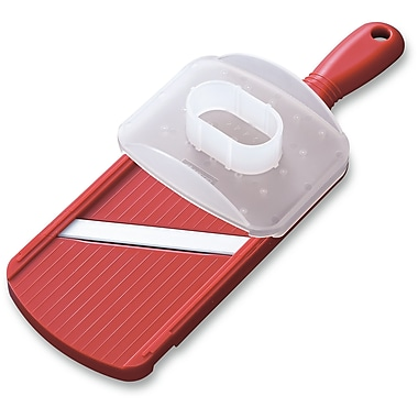 Kyocera Cutlery Cooks Tools Double Edged Mandoline Slicer; Red