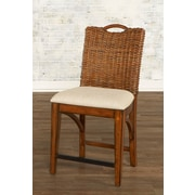 Largo Bali Bar Stool with Cushion; 24''