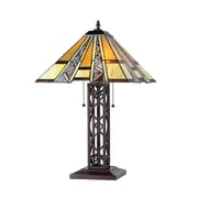 Chloe Lighting Mission 23.6'' H Table Lamp with Cone Shade