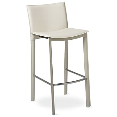TFG Elston 30'' Bar Stool with Cusion; Ivory