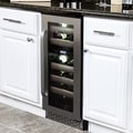 Whynter Elite 17 Bottle Dual Zone Built-in Wine Refrigerator