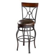 American Heritage Starletta 30'' Swivel Bar Stool with Cushion