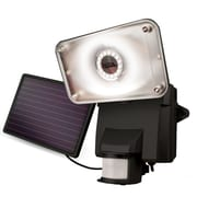 Maxsa Bright Motion-Activated Solar Security Light; Black