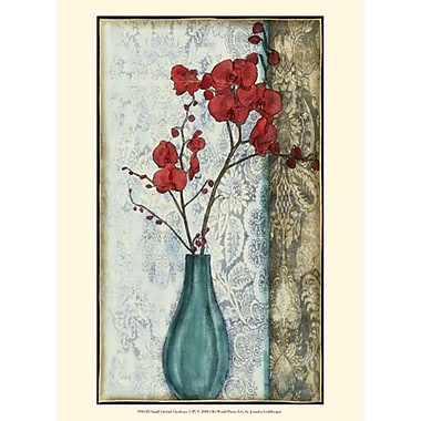 Evive Designs Small Orchid Opulence I (P) by Jennifer Goldberger Graphic Art