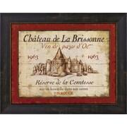 Evive Designs French Wine Labels I by Daphne Brissonnet Framed Vintage Advertisement