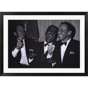 Evive Designs Rat Pack by Silver Screen Framed Photographic Print