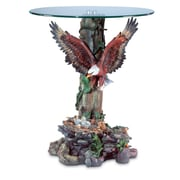 Zingz & Thingz Flying Eagle End Table