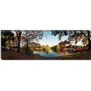 iCanvas Panoramic Urban Park, Central Park, New York City Photographic Print on Canvas
