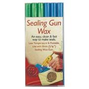 Manuscript Sealing Gun Wax; Blue / Green