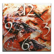 Metal Art Studio 22'' Hot Jazz Wall Clock