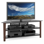 CorLiving™ Alturas Wood Veneer TV Stand For 42- 68 TVs, Dark Espresso