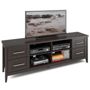 CorLiving™ Jackson Extra Wide TV Bench For 80 TV, Espresso