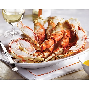 Omaha Steaks Fully Cooked King Crab Legs 2 (2 lb. Pkgs)
