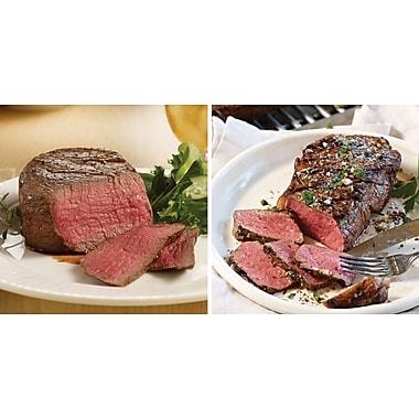 The International Omaha Steaks 2 Filet Mignons (5 Oz.) & 2 Boneless Strips (9 Oz.)