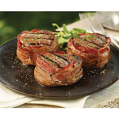 Omaha Steaks 12 Bacon-Wrapped Filet Mignons (5 Oz.)