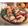 Omaha Steaks 8 Chicken Skewers with Vegetables (6 Oz.)