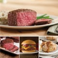 Omaha Steaks 2 Filet Mignons (6 Oz.), 2 Top Sirloins (6 Oz.), 4 Omaha Steaks Burgers (4 Oz.) & 4 Caramel Apple Tartlets