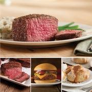 Omaha Steaks 2 Filet Mignons (6 Oz.), 2 Top Sirloins (6 Oz.), 4 Omaha Steaks Burgers (4 Oz.) & 4 Caramel Apple Tartlets