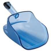 Polycarbonate Rubbermaid Commercial Hand-Guard Scoop Transparent Blue