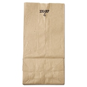 "Lagasse Paper 9""H x 5""W x 3.33""D Food Bags, Brown, 500/Pack"