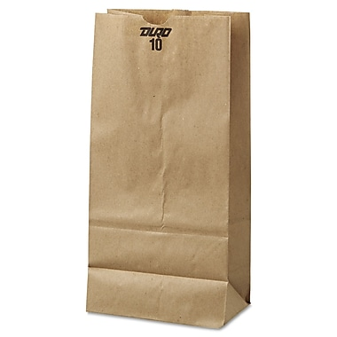Paper Grocery Bags, 500/Pack