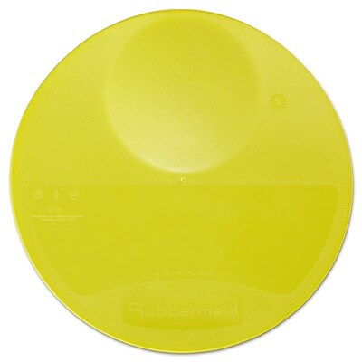 Polyethylene Rubbermaid Round Storage Lid 10.25