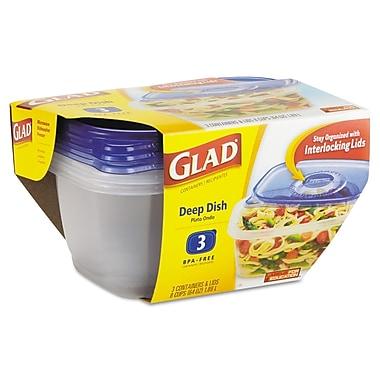 Plastic GladWare Deep Dish Food Container
