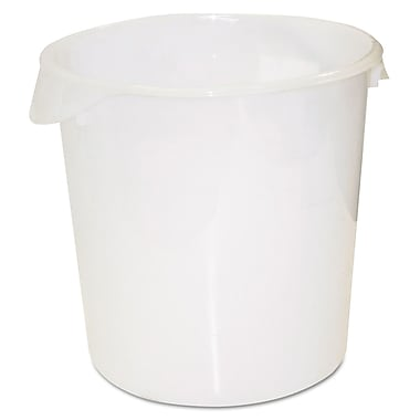 Polypropylene Round Storage Containers 13.12