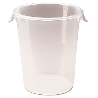 Polypropylene Round Storage Containers