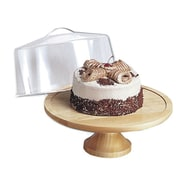 Steel Acrylic Cake Cover & Stand 12