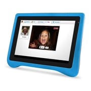 Ematic FTABU FunTab Pro 7 8GB Android 4.2 Jelly Bean Zoodles Kid Safe Tablet, Blue