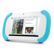 Ematic FTCV201 FunTab 2 7 8GB HD Android 4.2 Jelly Bean Kids Safe Tablet, White/Blue