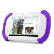 Ematic FTCV201 FunTab 2 7 8GB HD Android 4.2 Jelly Bean Kids Safe Tablet, White/Purple