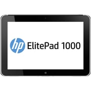 HP® Smart Buy ElitePad 1000 3795 10.1 64GB Windows 8 Pro Tablet, Black/Silver