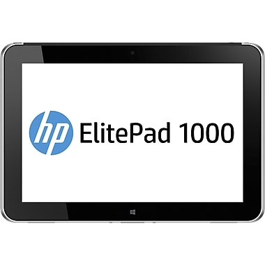 HP® Smart Buy ElitePad 1000 3795 10.1in. 64GB Windows 8 Pro 4G Tablet, Black/Silver
