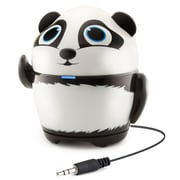 GOgroove Groove Pal Panda Portable Rechargeable Speaker with Universal 3.5mm AUX Connection