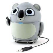 GOgroove Groove Pal Koala Portable Rechargeable Speaker with Universal 3.5mm AUX Connection