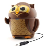 GOgroove Groove Pal Owl Portable Rechargeable Speaker with Universal 3.5mm AUX Connection