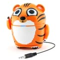 GOgroove Groove Pal Tiger Portable Rechargeable Speaker with Universal 3.5mm AUX Connection