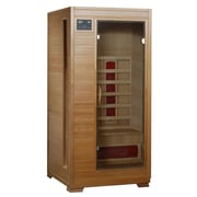 Radiant® 1-Person Hemlock Infrared Sauna With 3 Ceramic Heaters