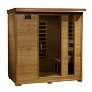 Radiant® 4-Person Hemlock Infrared Sauna With 9 Carbon Heaters