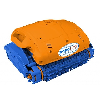 Blue Wave Aquafirst Robotic Cleaner For In-Ground Pools, Orange/Blue