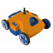 Swim Time™ Aquafirst™ Super Rover Robotic Pool Cleaner, Orange/Blue