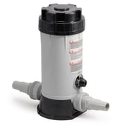 Blue Wave In-line Automatic 9 lbs. Chlorine Feeder For Above-Ground Pools, Gray/Black