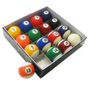 "Hathaway™ 2 1/4"" Pool Table Regulation Billiard Ball Set"