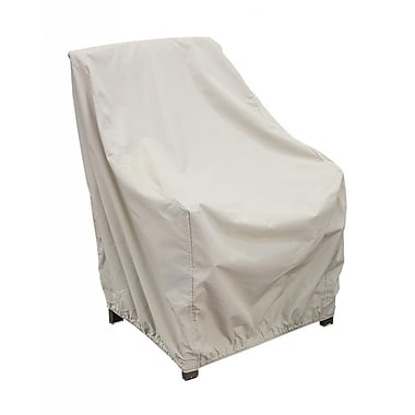 Blue Wave High Back Chair Winter Cover, Champagne