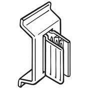 FFR Merchandising SuperGrip 0.75 Flag PVC Sign Holder, 66/Pack