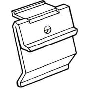 FFR Merchandising® Fold-N-Hold® 1.25 x 1.125 Shelf Channel Flush Sign Holder, Clear
